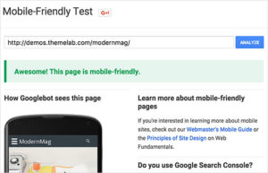 mobilefriendlytest