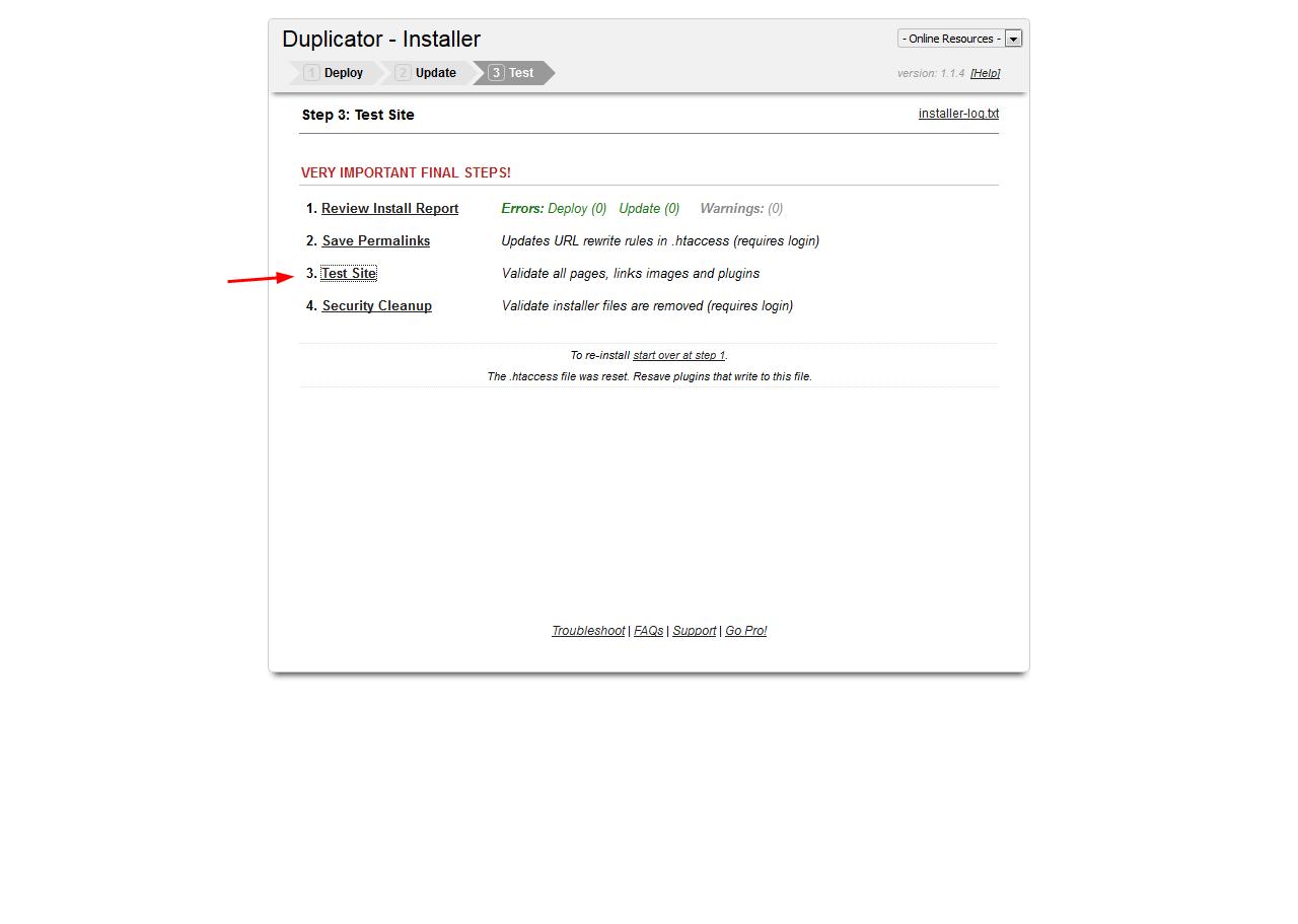 آموزش نصب بسته نصبی وردپرس